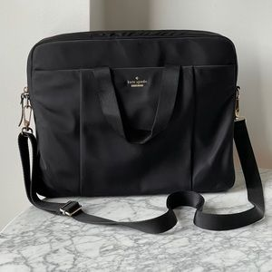 Kate Spade nylon commuter laptop bag
